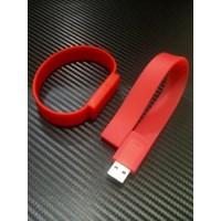 Jual  Barang Promosi Perusahaan Souvenir Usb Flashdisk Gelang Silicone Fdbr01  2