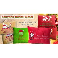 Beli Souvenir Bantal Natal Bisa Bordir Logo Barang Promosi Perusahaan 4