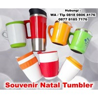 Barang Promosi Perusahaan Souvenir Natal Tumbler 1