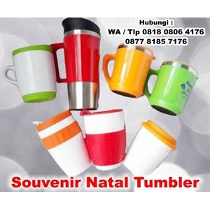 Barang Promosi Perusahaan Souvenir Natal Tumbler