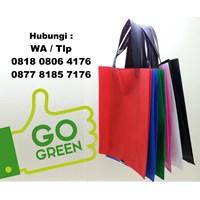 Tas Spunbond Ramah Lingkungan Eco Green Bag  Tas Promosi