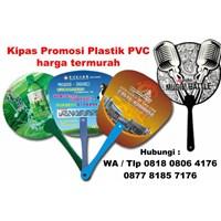 Barang Promosi Perusahaan Kipas Promosi Plastik Pvc Harga Termurah