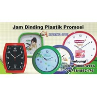 Produksi Jam Promosi Jam Dinding Plastik Promosi
