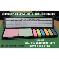 Barang Promosi Perusahaan Souvenir Sticky Note 301 Post It Promosi
