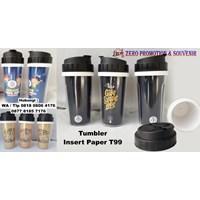 Barang Promosi Perusahaan Souvenir Tumbler Insert Paper T99