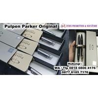 Jual  Barang Promosi Perusahaan Pulpen Parker Original Plus Grafir Nama  2