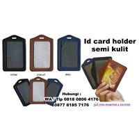 Jual Id Card Holder Semi Kulit Barang Promosi Perusahaan 2