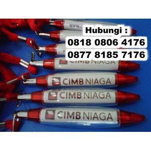 Barang Promosi Perusahaan Pulpen Cabe Tali