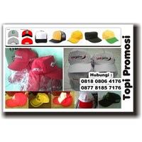 Produksi Topi Promosi Bahan Twill Di Tangerang 1