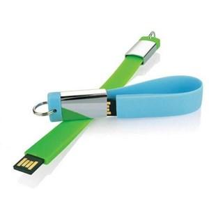 Barang Promosi Perusahaan Flashdisk Karet Gantungan Kunci Fdbr04