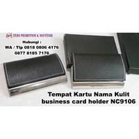 Barang Promosi Perusahaan Tempat Kartu Nama Kulit Nc9106 1