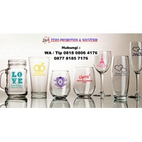 Jual  Souvenir Gelas Nikah Di Tangerang Barang Promosi Perusahaan  2