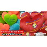Distributor Souvenir Bantal Love Bantal Hati Promosi  Boneka Promosi 3