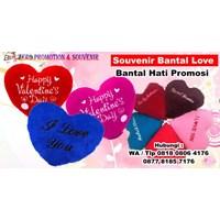 Jual Souvenir Bantal Love Bantal Hati Promosi  Boneka Promosi 2