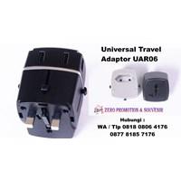 Jual Barang Promosi Perusahaan Universal Travel Adaptor 4 Port Usb Uar06  2