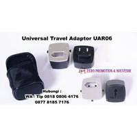 Distributor Barang Promosi Perusahaan Universal Travel Adaptor 4 Port Usb Uar06  3