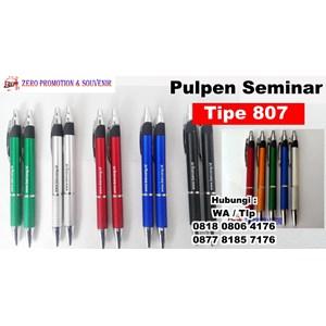 Barang Promosi Perusahaan Pulpen Seminar 807 Pen Promosi Plastik 807