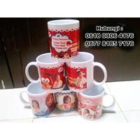 Jual Souvenir Mug Ulang Tahun Ultah Mug Promosi 2