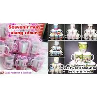 Distributor Souvenir Mug Ulang Tahun Ultah Mug Promosi 3