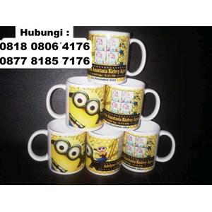 Souvenir Mug Ulang Tahun Ultah Mug Promosi