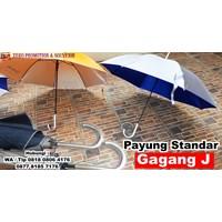 Jual Souvenir Payung Standar Gagang J Payung Promosi Handle J  2