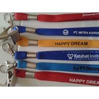 Jual Tali Id Card 1 Cm Sarung Lanyard 1 Cm  Barang Promosi Perusahaan 2