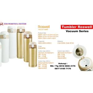 Barang Promosi Perusahaan Botol Minum Tumbler Roswell Vacuum Series