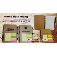 Distributor Souvenir Memo Recycle Pen Post It  Agenda Promosi 3