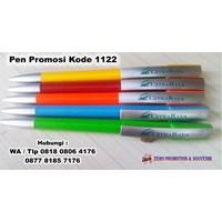 Jual Barang Promosi Perusahaan Pulpen Plastik Putar Promosi Kode 1122  2