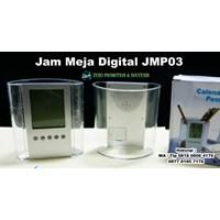 Souvenir Jam Meja Digital Jmp03 Cetak Logo Jam Pro