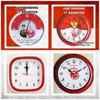 Jual Jam Promosi Souvenir Jam Dinding 17 Agustus b21c9071ee