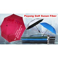 Distributor Payung Promosi Payung Golf Susun Fiber Otomatis 3