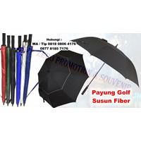 Payung Promosi Payung Golf Susun Fiber Otomatis 1