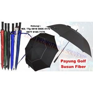 Payung Promosi Payung Golf Susun Fiber Otomatis