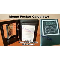 Jual Agenda Promosi Souvenir Promosi Memo Pocket Calculator 2