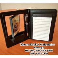 Agenda Promosi Souvenir Promosi Memo Pocket Calculator 1