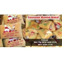 Jual Boneka Promosi Souvenir Bantal Natal Bisa Bordir Logo 2