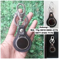 Jual Souvenir Gantungan Kunci Stainless Kulit Gk-A01 2