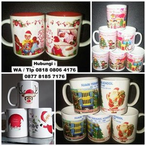 Mug Promosi Mug Natal - Mug Christmas Murah