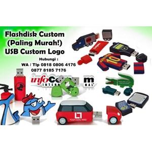 Barang Promosi Perusahaan Flashdisk Custom Metode 3D