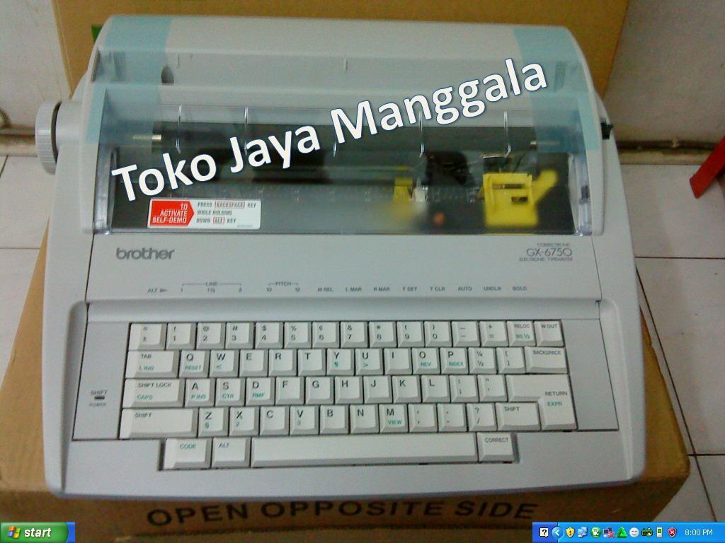 Jual Mesin Ketik Elektronik BROTHER GX 6750 Harga Murah