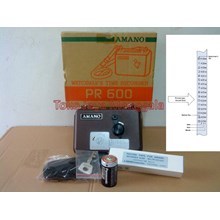 Alat Alat Mesin Kontrol Satpam Amano PR-600