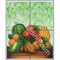 Panel Kotak 4 Gambar Fruitella 11 Ukuran 40X50cm