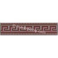 Lis Keramik Plan Canova Merah Ukuran 9.8X40cm
