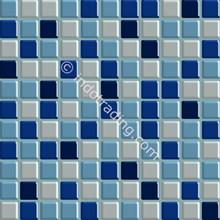 Keramik Mozaik Kaca Ukuran 30 X 30 Biru