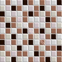 Keramik Mozaik Kaca Ukuran 30X30 Putih