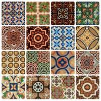 Lantai Keramik Motif