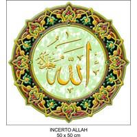 Incerto Allah Ukuran 50X50cm