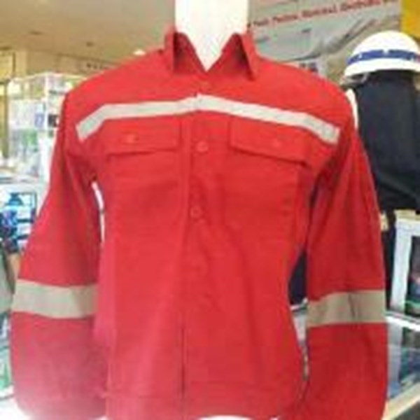 baju safety merah
