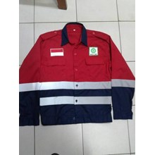 BAJU SAFETY+LOGO